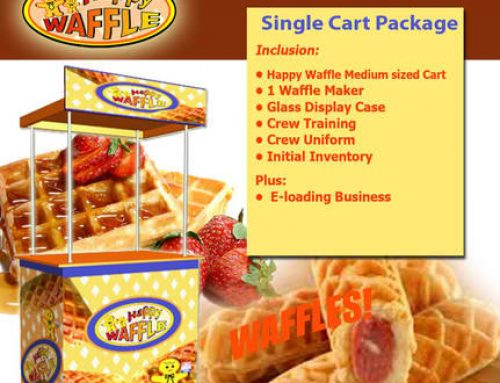 How to Start a Happy Waffle Franchise Food Cart