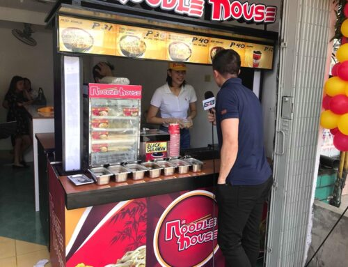 How to Franchise Noodle House Food Cart